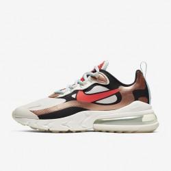 Nike Air Max 270 React Women Sneaker Brown Black White Pink Running Shoes CT3428 100