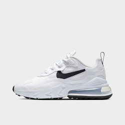 Nike Air Max 270 React Women Sneaker White Black Running Shoes CI3899 101