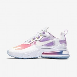 Nike Air Max 270 React Women Sneaker White Pink Purple Running Shoes CU2995 911