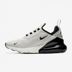 Nike Air Max 270 Womens Mens Running Shoes Gray Black Sneakers AH6789 012