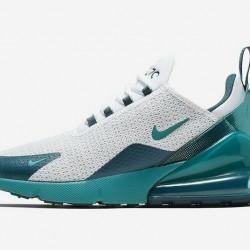 Nike Air Max 270 Womens Mens Running Shoes Gray Blue Sneakers AQ9164 102