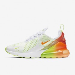 Nike Air Max 270 Womens Mens Running Shoes White Green Orange Sneakers CN7077 181