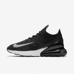 Nike Air Max 270 Womens Running Shoes Black White Sneakers AH6803-001