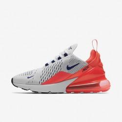 Nike Air Max 270 Womens Running Shoes Fuchsia Gray Sneakers AH6789-101