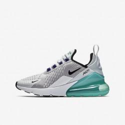 Nike Air Max 270 Womens Running Shoes Gray Green Black Sneakers 943345 010