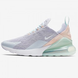Nike Air Max 270 Womens Running Shoes Gray Pink Green Sneakers CI1963 514
