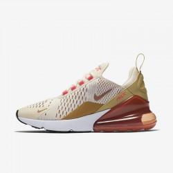 Nike Air Max 270 Womens Running Shoes Pink Brown Sneakers AH6789-801