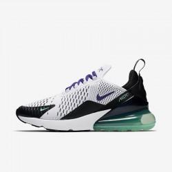 Nike Air Max 270 Womens Running Shoes White Purple Black Sneakers AH6789-103