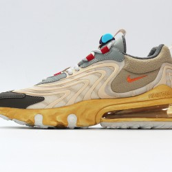 Travis Scott x Air Max 270V3 Cactus Trails Brown Gray Unisex Running Shoes CT2864-200
