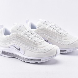 Nike Air Max 97 All White Sneakers 921826-101 Unisex Running Shoes