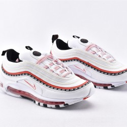 Nike Air Max 97 Eos Red White Sneakers CQ4817-100 Unisex Running Shoes