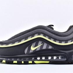 Nike Air Max 97 Black Green Sneakers BV6057-001 Unisex Running Shoes