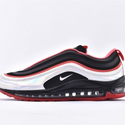 Nike Air Max 97 Black Red White Sneakers BV6670-013 Unisex Running Shoes