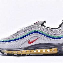 Nike Air Max 97 Nintendo 64 Gray Orange Sneakers CI5012-001 Unisex Running Shoes