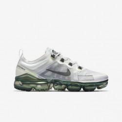 Mens Nike Air VaporMax 2019 Black White Running Shoes AT6810 100