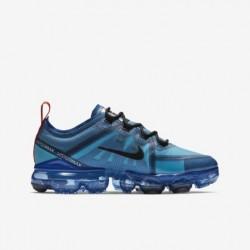 Mens Nike Air VaporMax 2019 Blue Black Running Shoes AR6631 400
