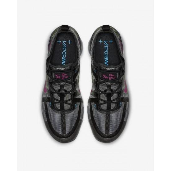 Mens Nike air VaporMax 2019 Black PRM Running Shoes AT6810 001