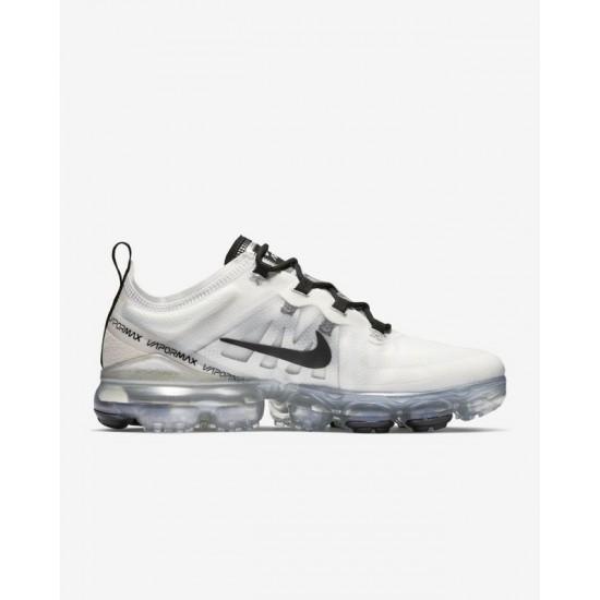 Nike Air VaporMax 2019 White Black Unisex Running Shoes AR6632 100