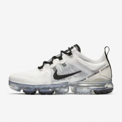 Nike Air VaporMax 2019 White Black Unisex Running Shoes AR6632 100