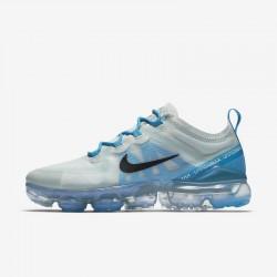 Womens Nike Air VaporMax 2019 Blue Gray Black Running Shoes AR6632 003