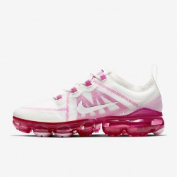Womens Nike Air VaporMax 2019 Rose White Running Shoes AR6632 105