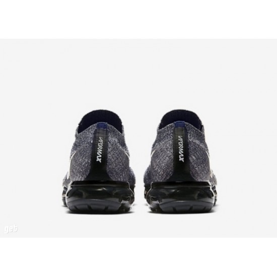 Mens Nike Air VaporMax Flyknit Grey Running Shoes 849558-010