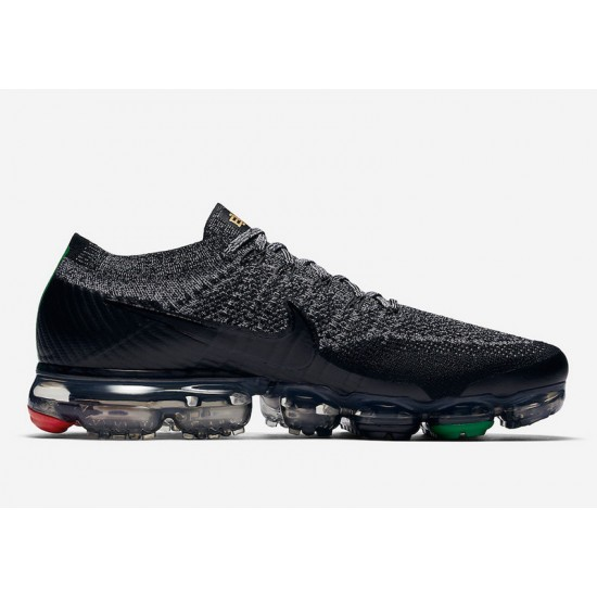 Mens Nike Air VaporMax Flyknit Grey Running Shoes AQ0924-007