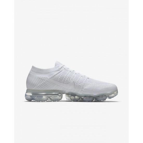 Mens Nike Air VaporMax Triple White Running Shoes 849558 100