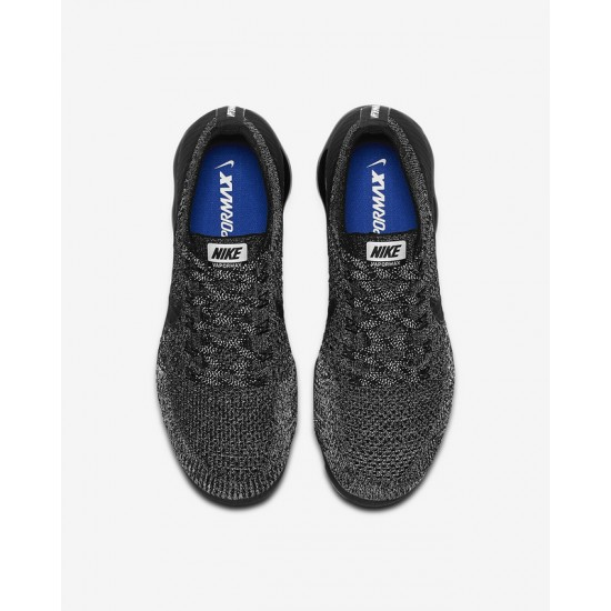 Nike Air VaporMax Flyknit Black Unisex Running Shoes 849558 041