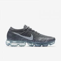 Nike Air VaporMax Flyknit Black Womens Running Shoes 849557-002