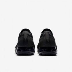 Nike Air VaporMax Flyknit Black Womens Running Shoes 849557-006