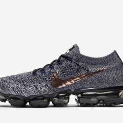 Mens Nike Air VaporMax Flyknit Grey Running Shoes 849558-010