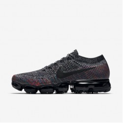 Nike Air VaporMax Flyknit Mens Black Running Shoes 849558 016