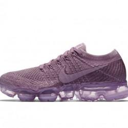 Nike Air VaporMax Flyknit Womens Pink Running Shoes 849557-500