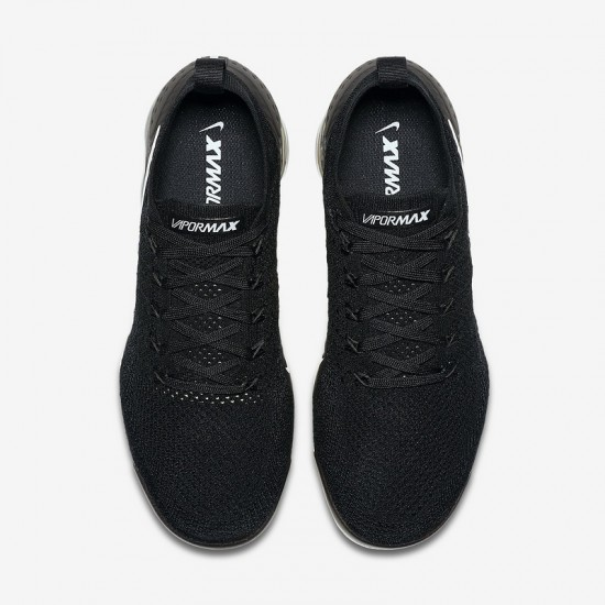 All Black Nike Air VaporMax Flyknit 2 Unisex Running Shoes 942842-001