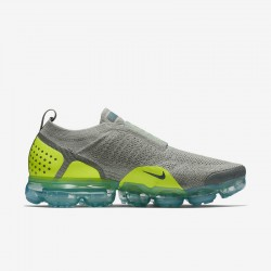 Mens Nike Air VaporMax FK MOC 2 Smoke Yellow Black AH7006 300