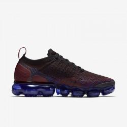 Nike Air VaporMax Flyknit 2 Purple Black Unisex Running Shoes 942843 006