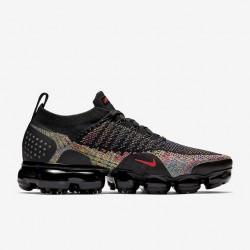 Nike Air VaporMax Flyknit 2 Unisex Black Running Shoes 942842 015