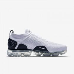Nike Air VaporMax Flyknit 2 Unisex White Black Running Shoes 942842-103