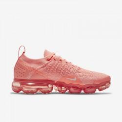 Womens Nike Air VaporMax Flyknit 2 Fuchsia Running Shoes 942843 800
