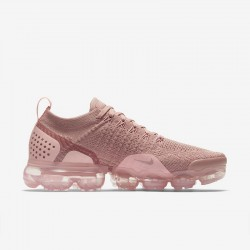 Womens Nike Air VaporMax Flyknit 2 Light Pink Running Shoes 942843 500