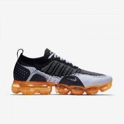 Womens Nike Air VaporMax Flyknit 2 Orange Black Grey Running Shoes 39-46 942842 106