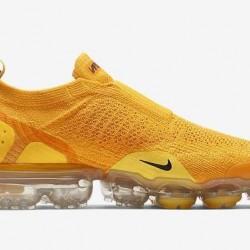 Womens Nike Air VaporMax Flyknit 2 Yellow Running Shoes AJ6599 600