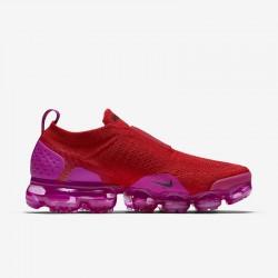 Womens Nike Air VaporMax Flyknit Purple Win Red Running Shoes AJ6599 600