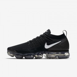 All Black Nike Air VaporMax Flyknit 2 Unisex Running Shoes 942842-001