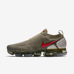 Mens Nike Air VaporMax FK MOC 2 Brown Red Running Shoes AH7006 200