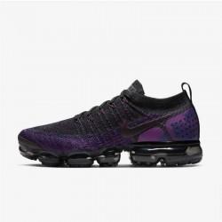 Mens Nike Air VaporMax Flyknit 2 Night Purple Black Running Shoes 942842 013