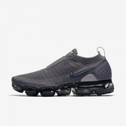 Nike Air VaporMax FK MOC 2 Gray Black Unisex Running Shoes AJ6599 003