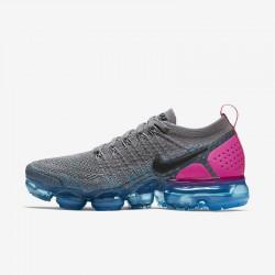Nike Air VaporMax Flyknit 2 Unisex Grey Purple Running Shoes 942843 004