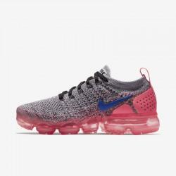 Nike Air VaporMax Flyknit 2 Womens Pink Gray Blue Running Shoes 942843 104